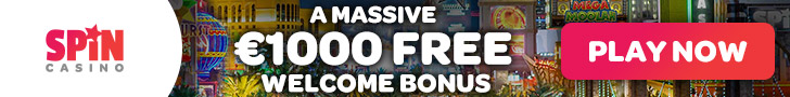 spin casino ireland welcome bonus offer 1000 euros new players